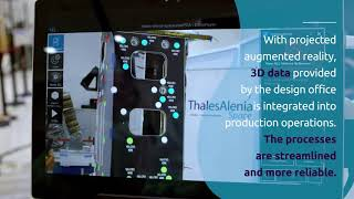 Augmented Reality and Digital Continuity applied to Thales Alenia Space