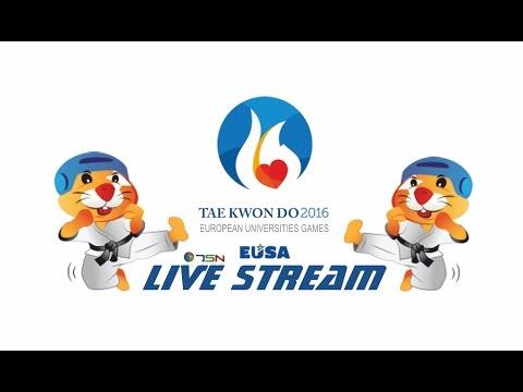 European Universities Games Zagreb-Rijeka 2016 Taekwondoo - Court 1 (Day 1)