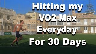 Doing The Beep Test/ Yoyo Test Everyday For A Month | Results | Running Everyday