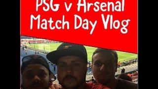 PSG 1 v 1 Arsenal | Matchday Vlog | Game 5 (Extended)