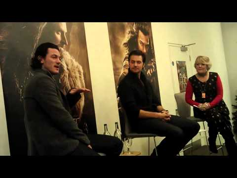 Richard Armitage and Luke Evans at Waterstones Piccadilly (Part 1) - 06/12/2013