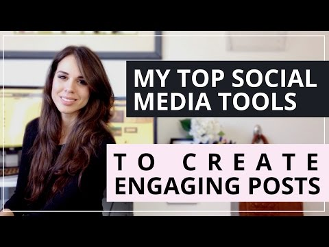 My Favorite Social Media Tools To Help You Create Engaging Content