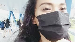 RIDE FERRISH WHEEL IN HONGKONG   PART 1 || tkw Vlog