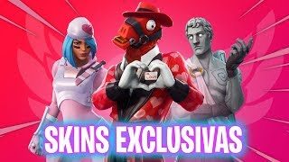 SAN VALENTIN EVENT SECRETS! Fortnite Battle Royale - Luzu