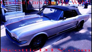 """1966 Ford Mustang Convertible """"BRB 114"""" Korek Designs 2017 Goodguy's PPG Nationals"""