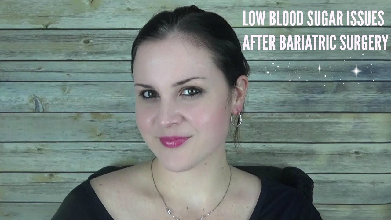 low blood sugar after weight loss surgery