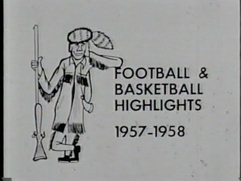 1957-1958 WVU Basketball Highlights