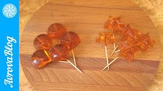 Леденцы на палочке своими руками / Lollipops at home