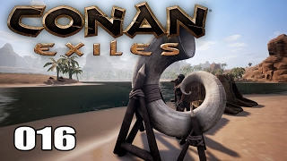 CONAN EXILES [016] [Ins Horn blasen & Insekten essen] [Multiplayer] [Deutsch German] thumbnail