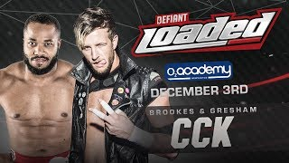 Chris Brookes Is Coming For Tag Team Gold With An Old Friend