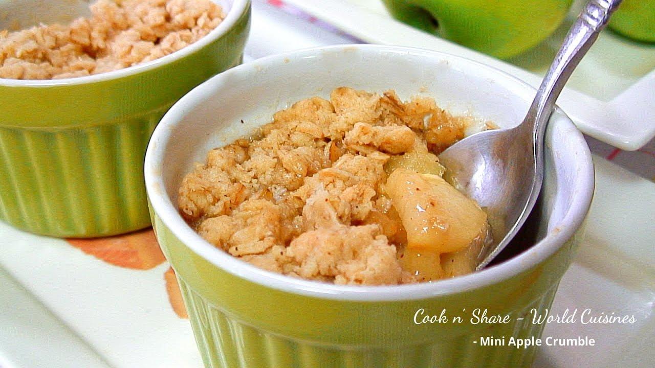 Apple Mug Cake