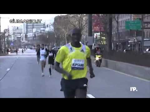 New York Half Marathon 2013 - Daniele Meucci il video