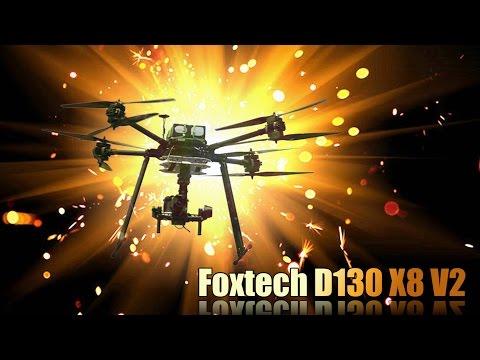 Foxtech Devourer V2 Heavy Lift X8 copter Introduction