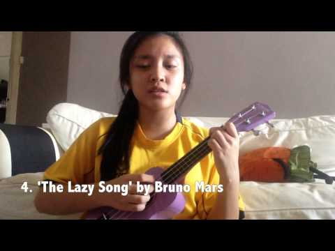 Ukulele ukulele chords lazy song easy : 10 easy songs on the ukulele with 4 basic chords - YouTube