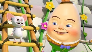 Шалтай-Болтай сел на стену | детские рифмы в россии | Nursery Rhymes | Humpty Dumpty Sat On a Wall