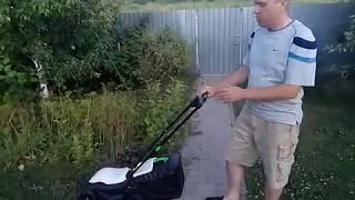 Особенности сборки электрогазонокосилки. Видео обзор Tatra Garden LME 100.