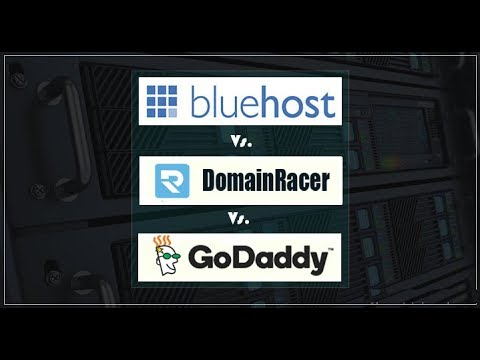 Bluehost Vs GoDaddy Hosting Review  #2018 | Crack001
