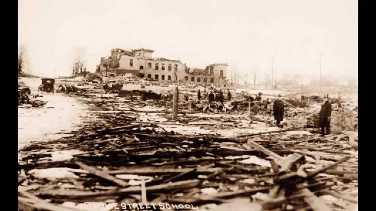 The Halifax Explosion 1917 Nova Scotia Canada