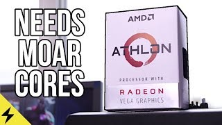 AMD Athlon 200GE Review & Benchmarks: Needs More Cores!