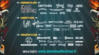 Avatar au Download Festival Paris
