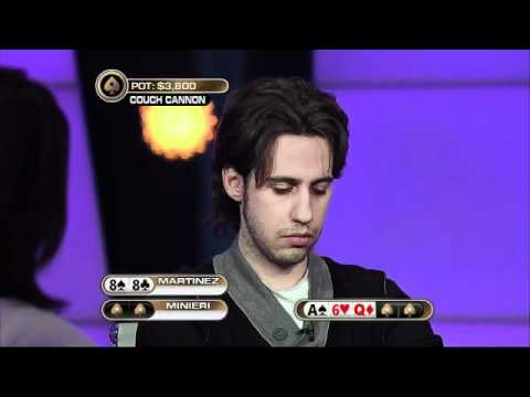 The Big Game Season 2 - Martinez vs Minieri (Couch Cannon) - PokerStars.com - 동영상