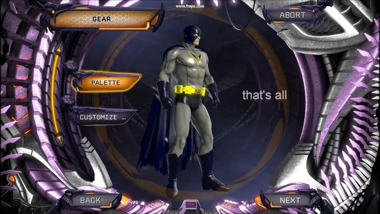 DC Universe Online Batman Updated by ArmachamCorp on DeviantArt