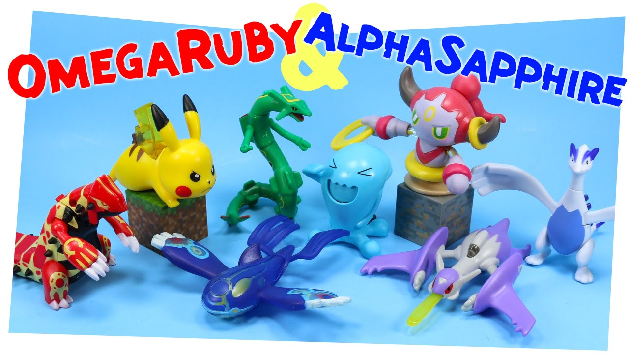 Pok 233 Mon Omega Ruby Amp Alpha Sapphire Happy Meal Toy