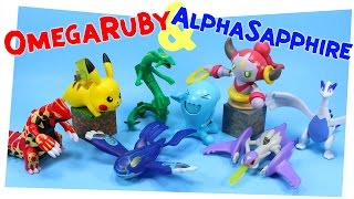 Pokémon Omega Ruby & Alpha Sapphire Happy Meal Toy collection 2015