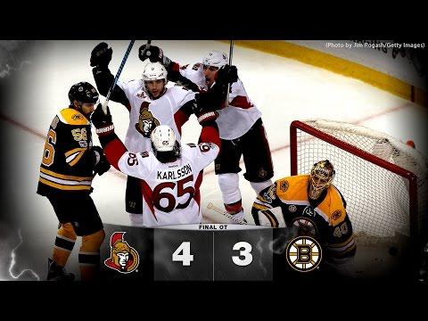 Game 3 - Sens vs. Bruins - Post-game Media
