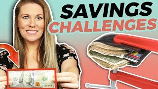 Money Savings Challenges That Will Change Your Life