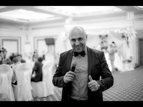 Свадебный ролик с конкурсной программой. Ведущий Олег Рублев
