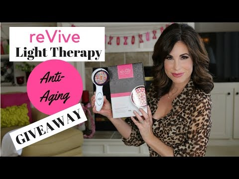 reVive ANTI-AGING LED Light Therapy  | 12 Week RESULTS + REVIEW |  GIVEAWAY