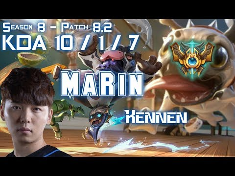 MaRin KENNEN vs NASUS Top - Patch 8.2 KR Ranked