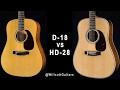 Martin D-18 VS HD-28