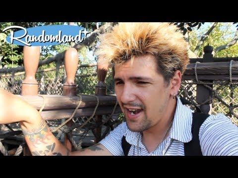 Swiss Family / Tarzan's Treehouse Climb at Disneyland. Afraid much?