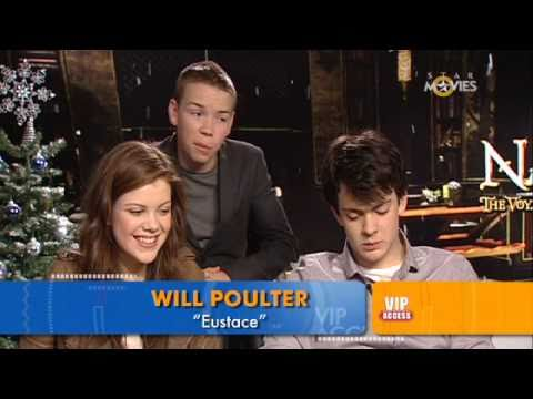 STAR Movies VIP Access: Chronicles of Narnia  Georgie Henley, Skandar Keynes & Will Poulter