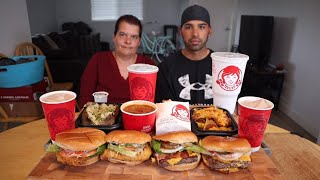 WENDY'S MUKBANG WITH MOM