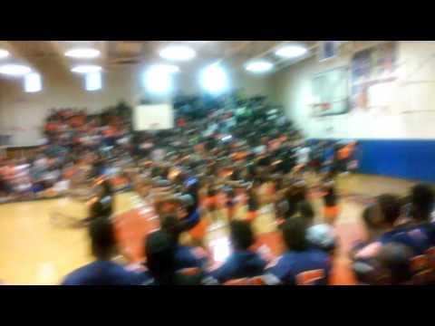 Maury High School Cheerleaders 2k16 Pep Rally