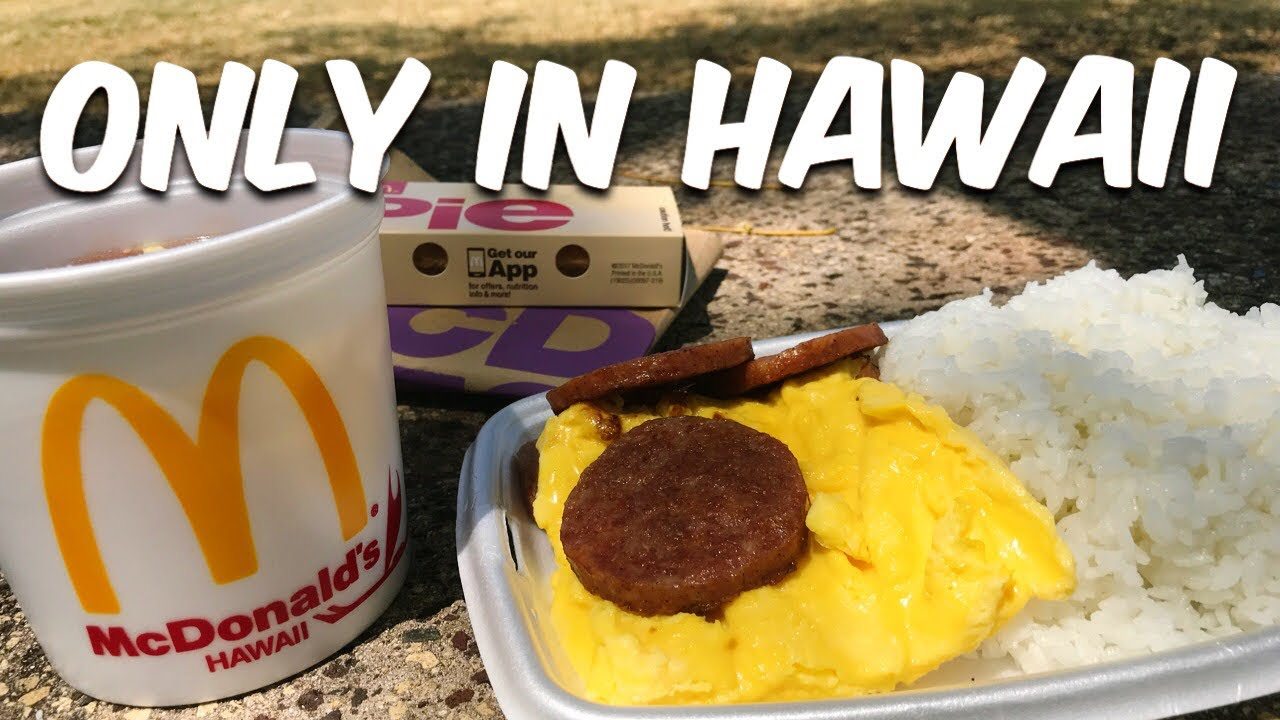 McDonald's Only in Hawaii Items