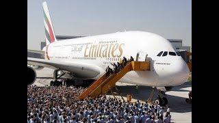 Airbus A380   самый большой пассажирский самолет в мире