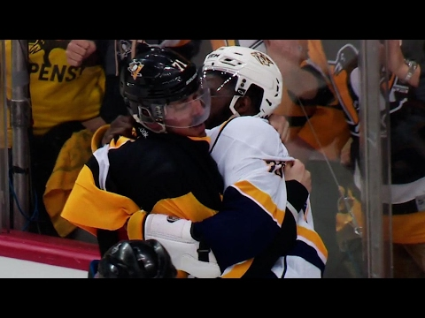 Thumbnail: Gotta See It: Malkin & Subban drop the gloves during commercial break