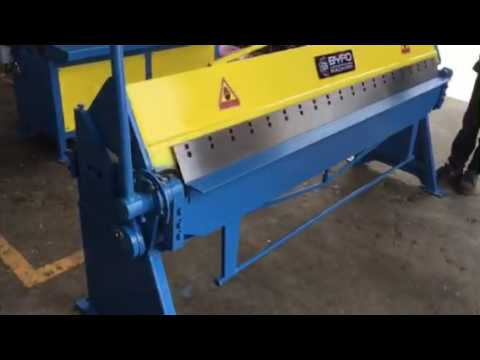 Nanjing Byfo Brand sheet metal bending machine manual ...