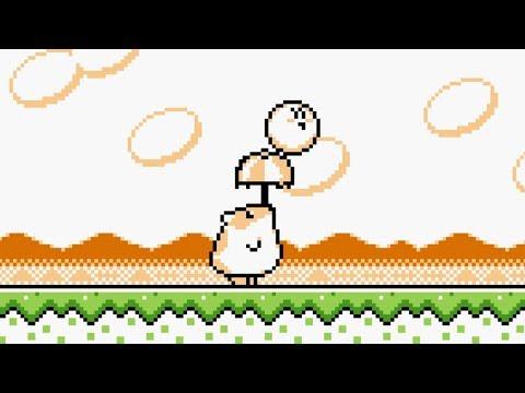 Kirby's Dream Land 2 - Level 1 Grass Land - Walkthrough 100%