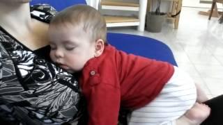 Baby Felix snoring (6 months old)