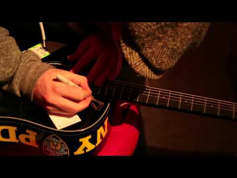 Ones to Watch - The Skype Six - Alex Clare signs The Skype Six guitar