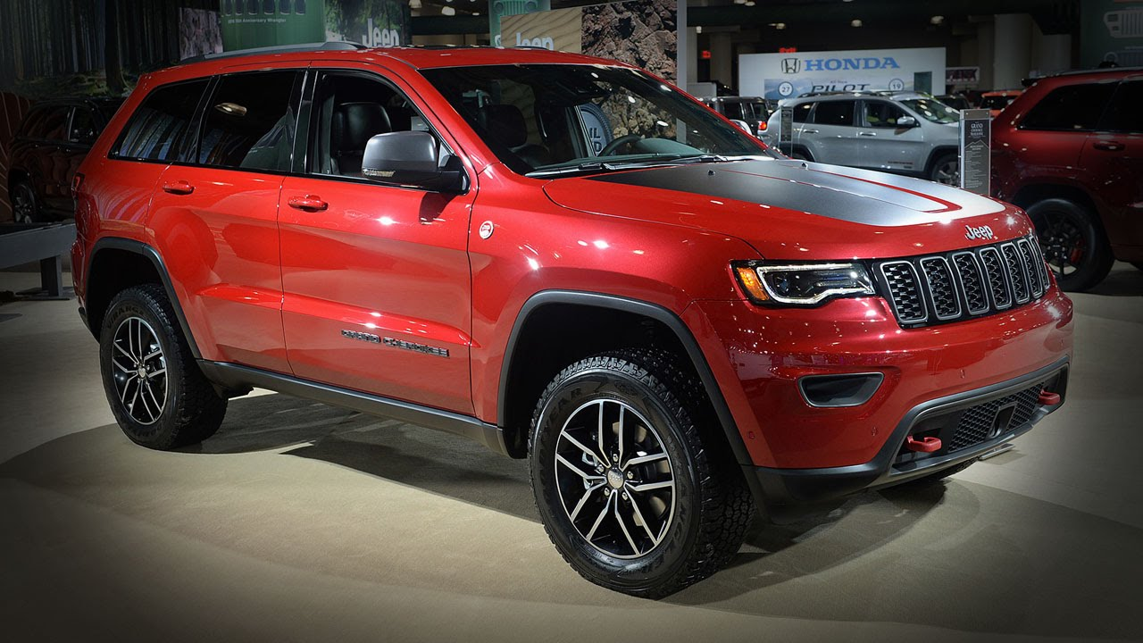 2017 jeep grand cherokee trailhawk 2016 new york auto show youtube. Black Bedroom Furniture Sets. Home Design Ideas