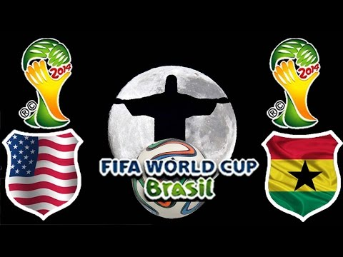 World Cup Brasil 2014 - Gruppenphase - USA vs. Ghana
