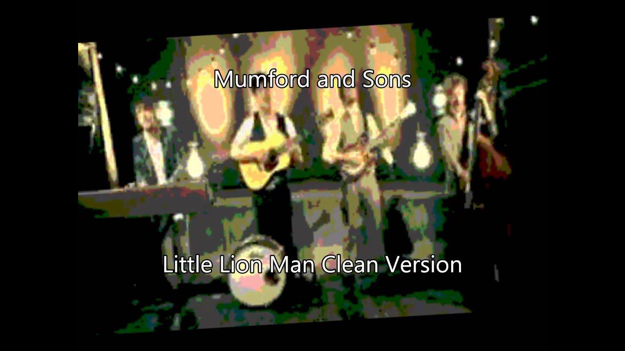 Mumford and sons little lion man single
