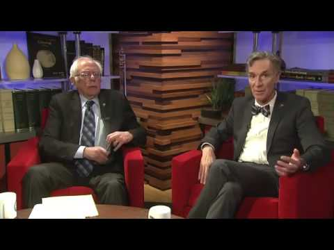 Bernie Sanders Chats with Bill Nye