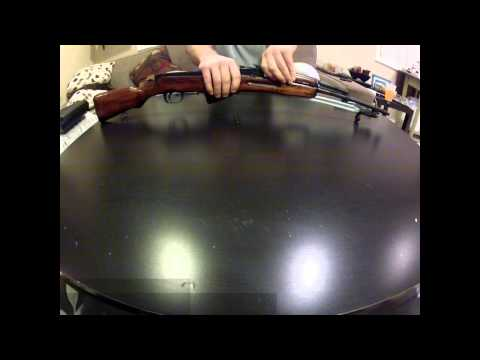 How To Clean And Disassemble A Sks Rifle